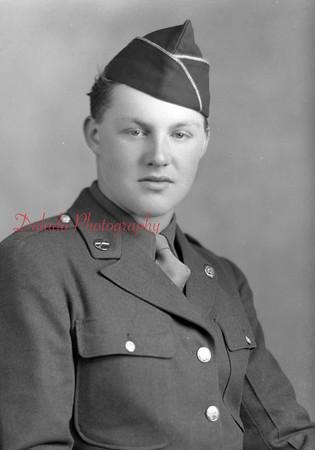 Grembowicz, John, Pvt. Photo taken Jan. 24, 1945. Box. No. 247, Shamokin.