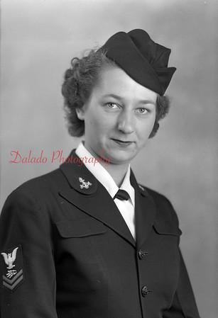 Bartos, Mildred. Photo taken Feb. 2, 1945. 1040 Scott St., Kulpmont.