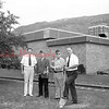 (1982) VFW groundbreaking of monument along Independence Street.