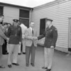 (1957) Students from Kulpmont and Mount Carmel tour Fort George Meade.