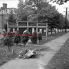 (09.27.1951) Honor Roll along Market Street near the Lincoln School.