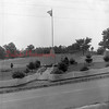 (07.28.1955) Marion Heights Veterans Memorial erected in 1947 as a memorial in honor of the men who served in World War I and II. Photo taken on July 28, 1955.