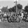 (1946) Panoramic of World War I and World War II veterans from Ralpho Township.