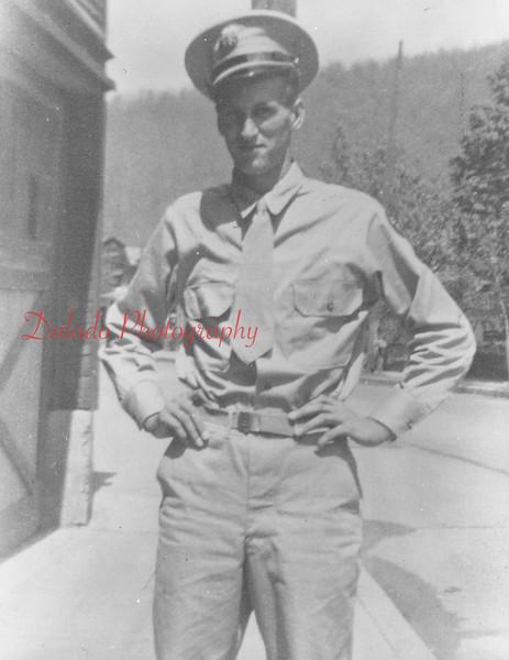 Austin Chaundy, of R.D. No. 2, Shamokin. Killed in action on Dec. 4, 1944.