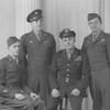 Veterans are Frank Geahart, Robert Auman, Robert Williams and John Drust.