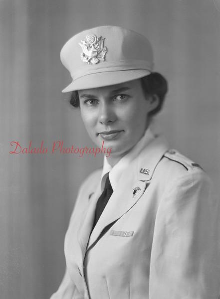 Lt. Kathleen Hock, of Franklin St., Shamokin.
