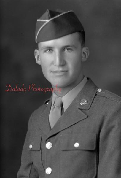 Pvt. Allan Hack.