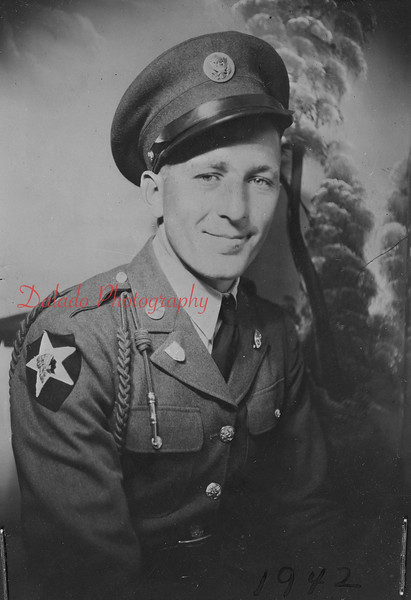 Frank Kachnoskie. Killed in action on Dec. 18, 1944.