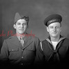 Peter Supsic and Joseph Shepos. Supsic killed in action on Jan. 13, 1945.