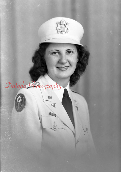 Lt. Lessie Stausser, of First and Coal streets, Trevorton.
