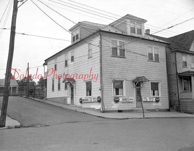 (1962 or 63) Dukes Hotel in Marion Heights.