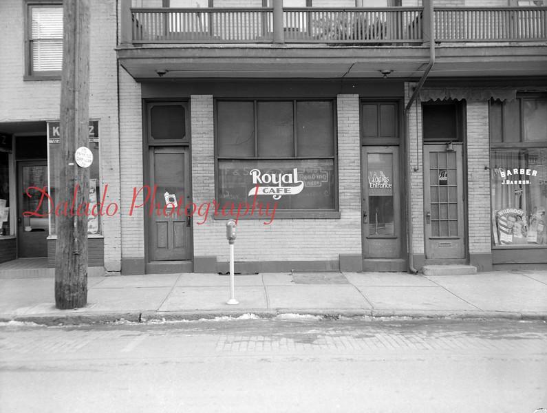 Royal Café at 511 Shamokin St.