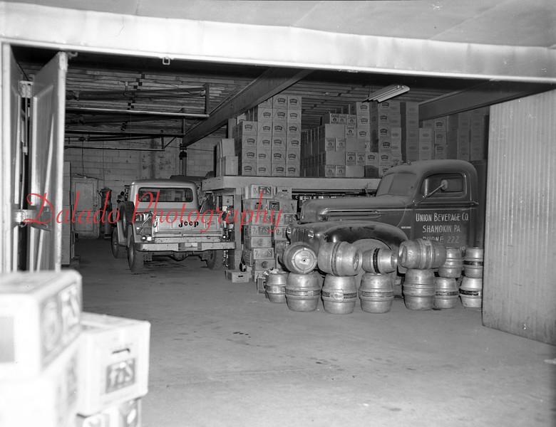 (1962) Union Beverage.
