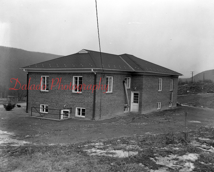 (02.02.1956) New juvenile home on Trevorton Road on Feb. 2, 1956. Erected by County Commissioners, Dr. George Deitrick, John U. Shroyer and George Perles.