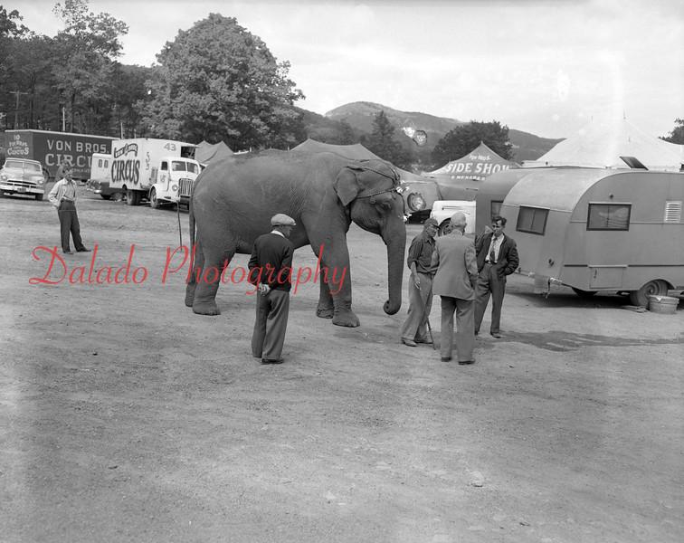 (1955) Bon Brothers Circus in Coal Township.