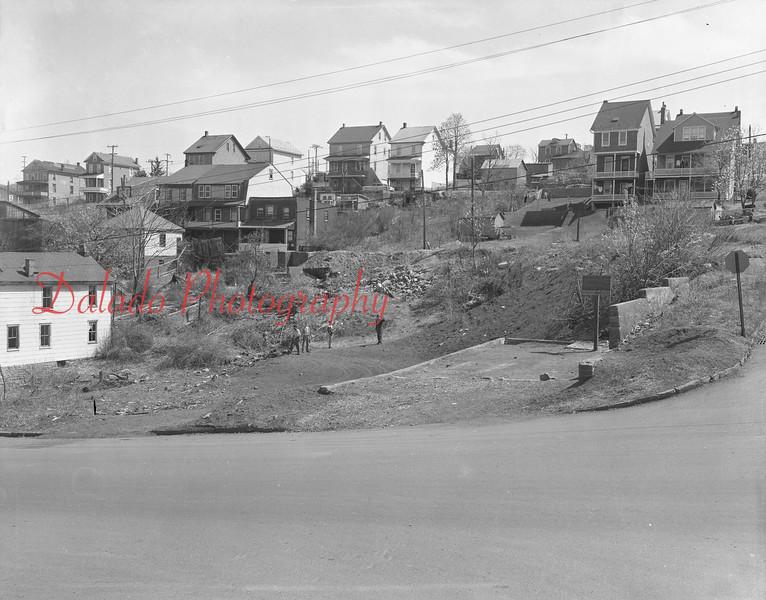 (1959) Mulberry Street playground.