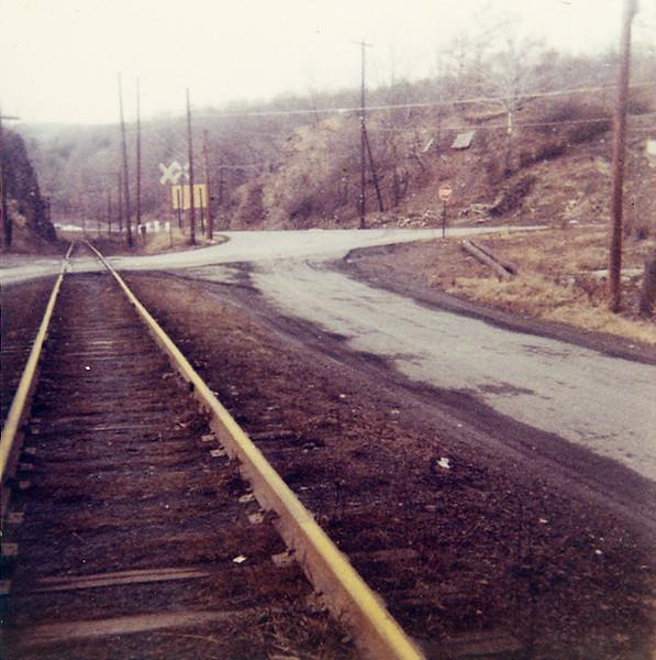 (Fall 1968) Rock Cut at Brady.