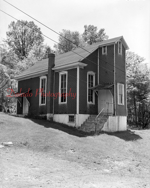 (1954) Big Mountain- This building originally stood in Pitman, but was purchased by the people of Big Mountain, torn down, moved, and rebuilt here.