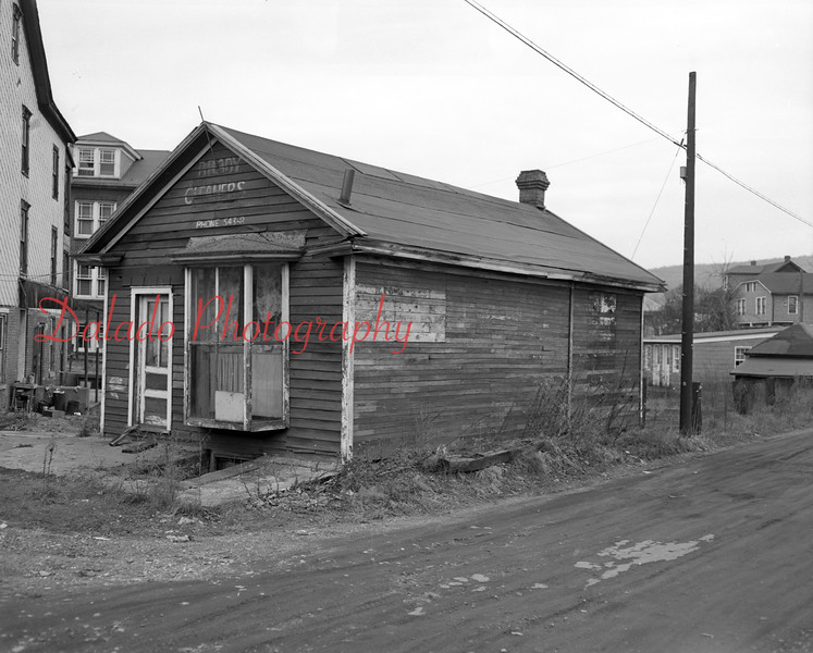 (11.19.1953) First Brady Post Office. Located near present day intersection of Route 901 and Water Street.