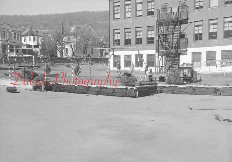 (1960) Arch Street playground.