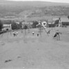 (July 1960) Pulaski School playground.