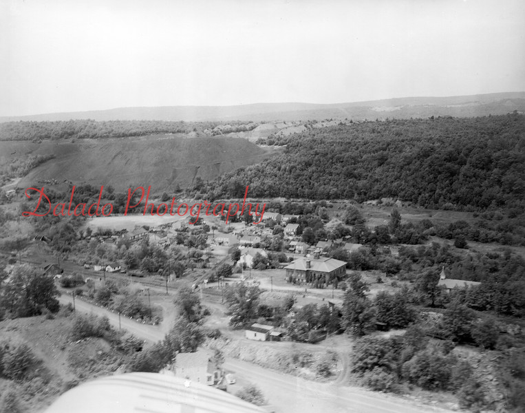 (06.1954) Excelsior- Whitney School at center with Rt. 901 running along the bottom.