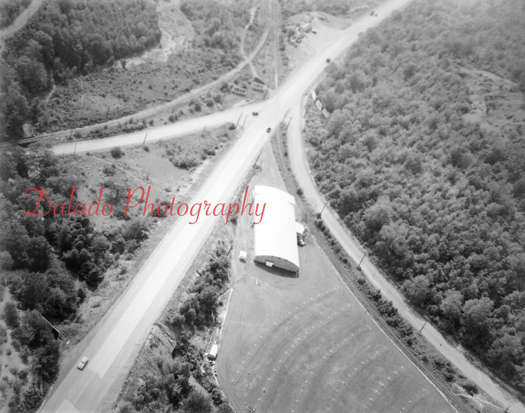 Arena Gardens at the Lancaster Switch. This is prior to PennDOT making the interchange in the late 1960s.