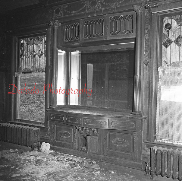 (Early 1970s) Kulp Mansion in Coal Township.