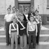 (10.04.53) Ferndale School Patrol Boys are, front row, from left, Richard Mackarella, Tom Duke and Jimmy Martin; second, William Goss, George Jeremiah, Robert Pawelczyk and Garry Ditty; third, Walter Glosek, George Haines and William Mayton.
