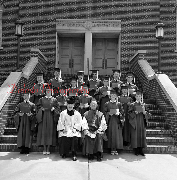 St. Anthony School graduates.