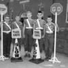 (10.15.53) McKinley School patrol boys are, from left, Roland Krebs, Robert Snyder, Robert Walter, James Henninger and Harry Herb.