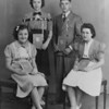 (1940) Eighth-grade class of the Burrows School in Burnside.