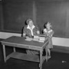 (06.02.55) Diane Hauck, a second-grade student at Uniontown School, meets with Miss Hannah Hepler.