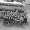(May 1954) Uniontown School trip to Hershey.