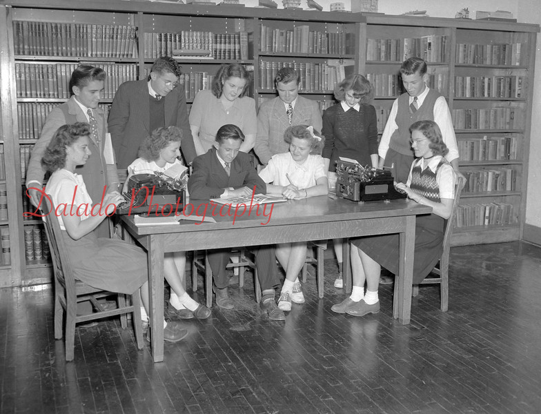 (1947) Centralia High School.