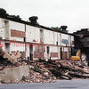 (01.28.2000) Demolition of the former Coal Township High School.