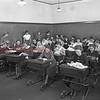 (01.1935) Coal Township High School needle point class.