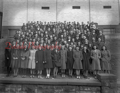(1941-1942) Coal Township High School yearbook photos.