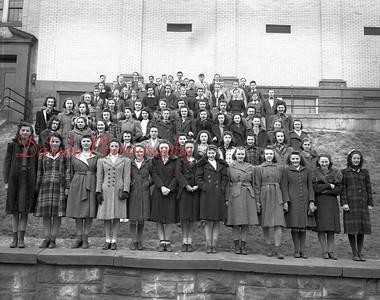 (1941-1942) Coal Township High School yearbook photos.