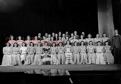 (1941-1942) Coal Township High School yearbook photos. (Choir)