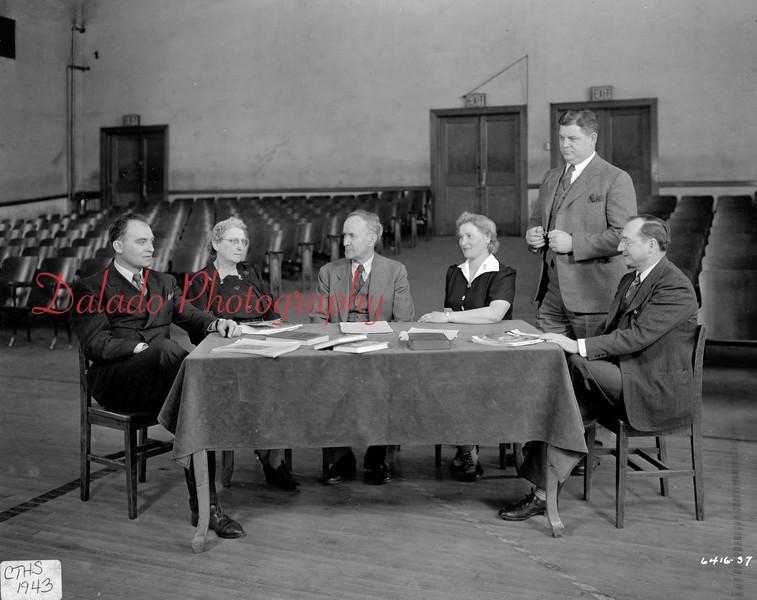 (1943) Coal Township High School.