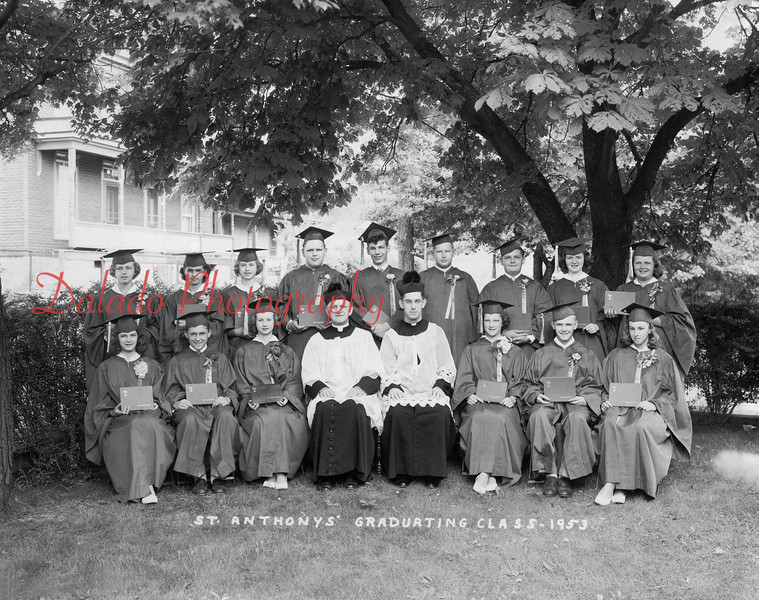 (1953) St. Anthony's Class of 1953.
