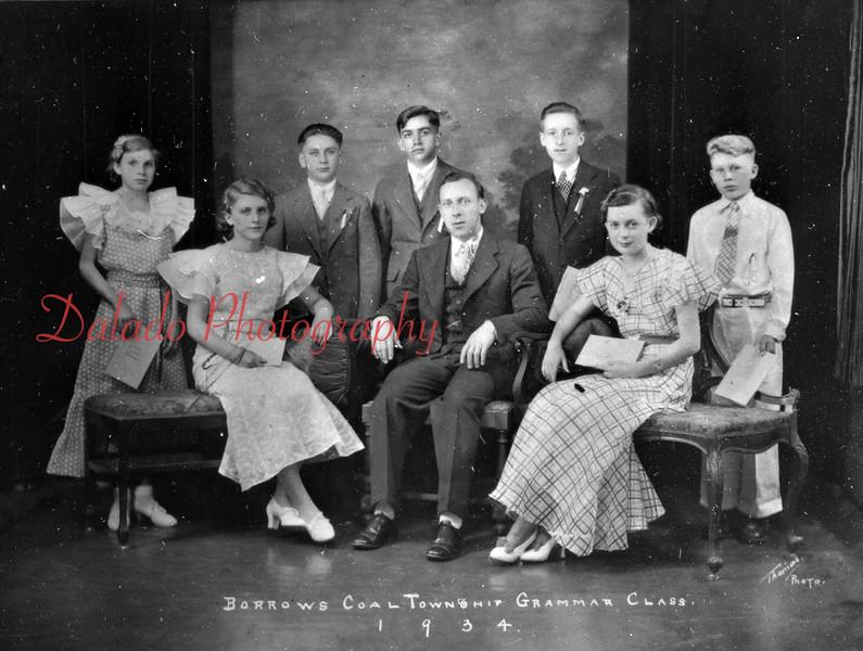 (1934) Borrow School Class of 1934 (Burnside).