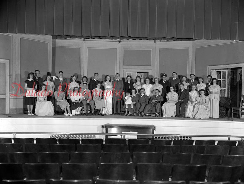 (1948) Trevorton High School class play.