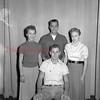 (09.20.55) Mount Carmel High School seniors class officers are, seated, from left, tom Revak, president; Dot Olenei, secretary; John Zenyrek, vice president; and Susie Elko, treasurer.