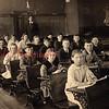 (1918) Natalie School in 1918- Row left, Mary Chashman, Ruth Cahoon, Ed McHugh, Claude Hornberger, Joe Noel, Lola , Eva Kleese, Loretta Cleaver; middle row, Isabella Slotterback, Joe Chocolis, Earl Klees, Joe Miscavage, Mae Hughs, Don Cleaver, Pearl Adams and Geo McRuth; far right, Jas Zenyash, Jas Noel, Jas Bojako, Jas Cahoon, James Reilly and Jake Sebastian.