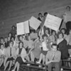 (April 1962) Kulpmont High students protesting the possible closure of their school.
