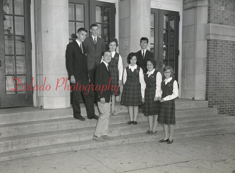 (1963-64) Mount Carmel Catholic High School.