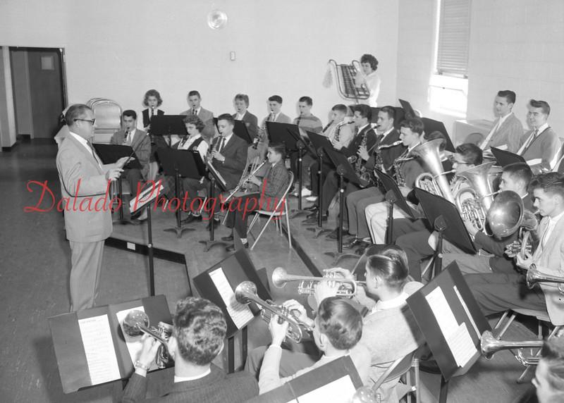 (April 1960) Lourdes band.