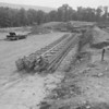 (July 1958) Construction of Our Lady of Lourdes High School.